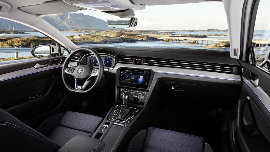 2019 Volkswagen Passat facelift utastér