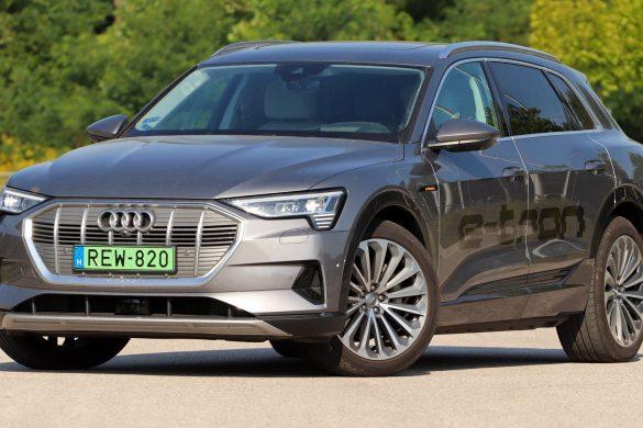 Négy karika, két villanymotor, egy autó: kipróbáltuk az Audi e-tront
