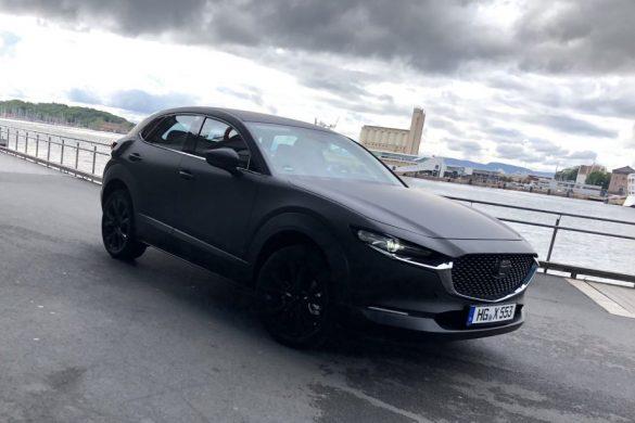 Lencsevégre kapták a Mazda elektromos prototípusát