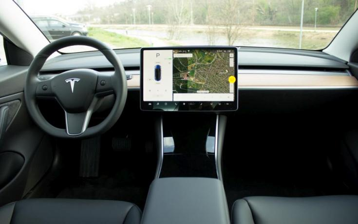 Tesla Model 3 beltér