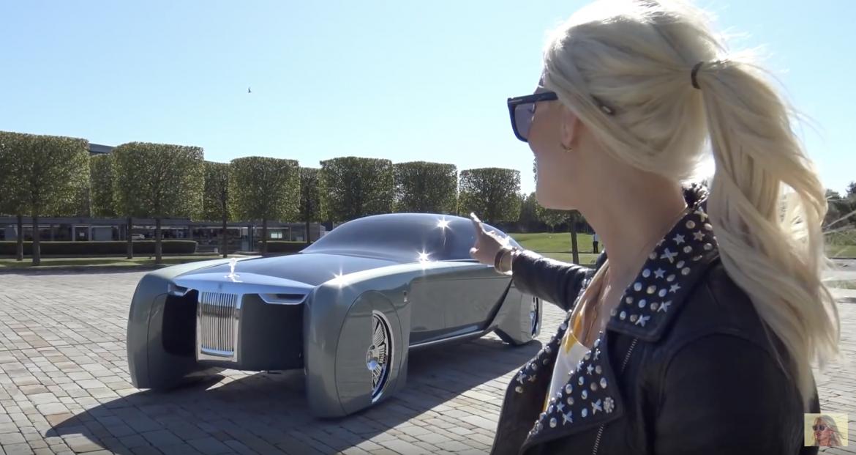 Videón a Rolls Royce 2035-ös víziója!