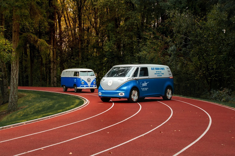 VW Transporter T2 és az I.D. Buzz Cargo