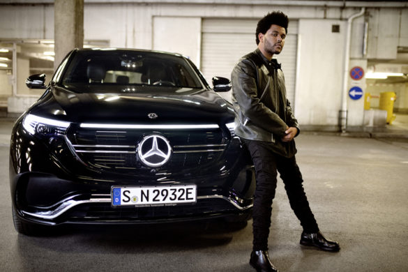 Íme a Mercedes-Benz EQC legújabb reklámfilmje