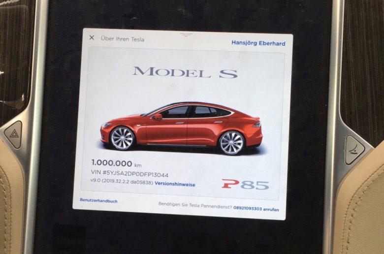 Íme az egymillió kilométert futott Tesla Model S