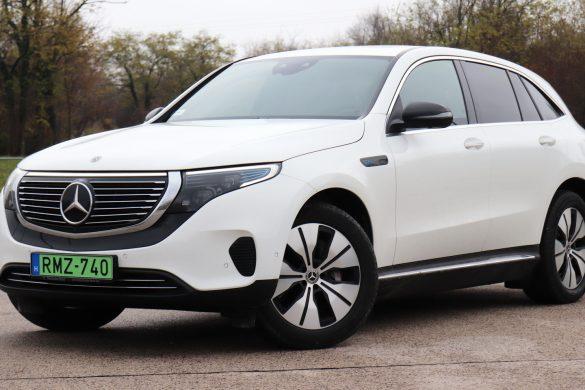 Csillagos villanyos: teszten a Mercedes EQC