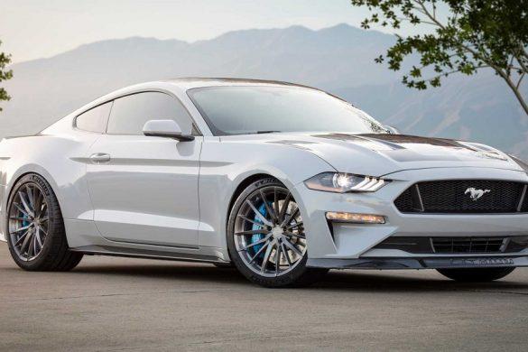 elektromos Mustang