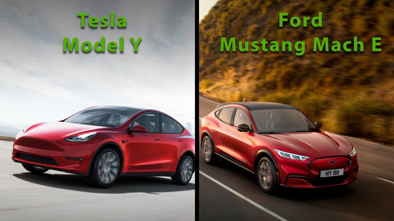 Model Y vs. Mustang Mach E - nagyon nehéz lesz a döntés