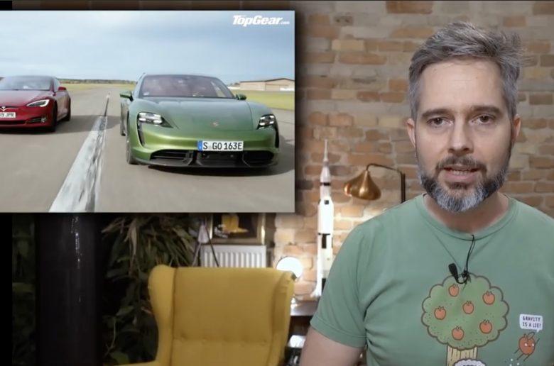 Karotta is véleményezte a Top Gear csalóka összevetését - Porsche vs Tesla