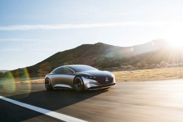 Fotókon a Mercedes-Benz EQS luxusszedán