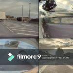 Túl szűk volt az út – Model 3-at tört az Autopilot (Videó)