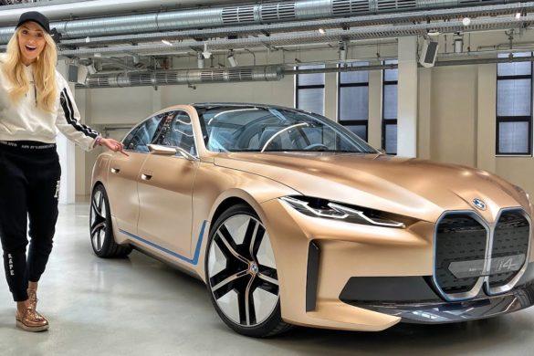 Videón a jövőre érkező tisztán elektromos BMW i4