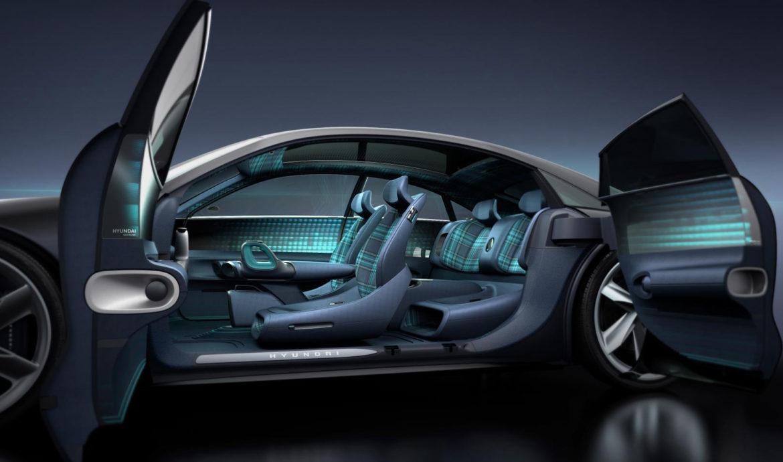 A Hyundai elektromos autója akár töltés közben tisztíthatja a levegőt [GALÉRIA]
