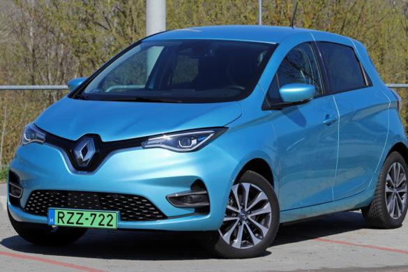 Francia üdvözlet: Renault Zoe teszt