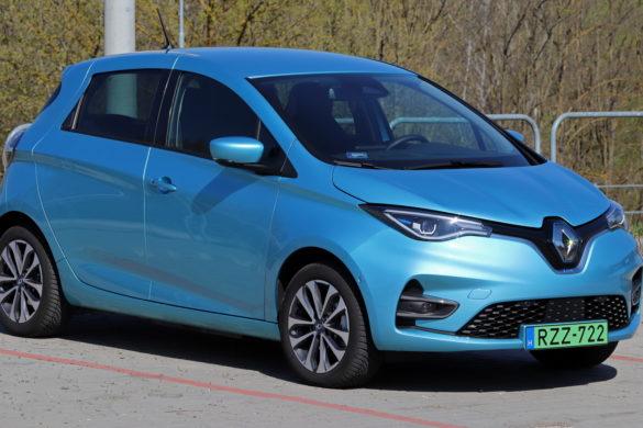 Renault ZOE vs Tesla Model 3  hatótáv teszt [videó]