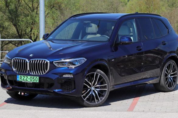 Szteroidkúra: kipróbáltuk a zöld rendszámos új BMW X5-öt
