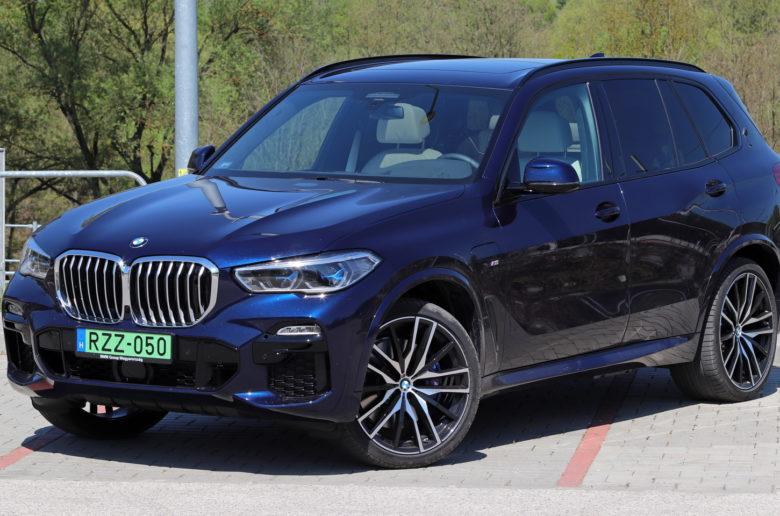 Szteroidkúra:  új BMW X5 plugin hibrid teszt