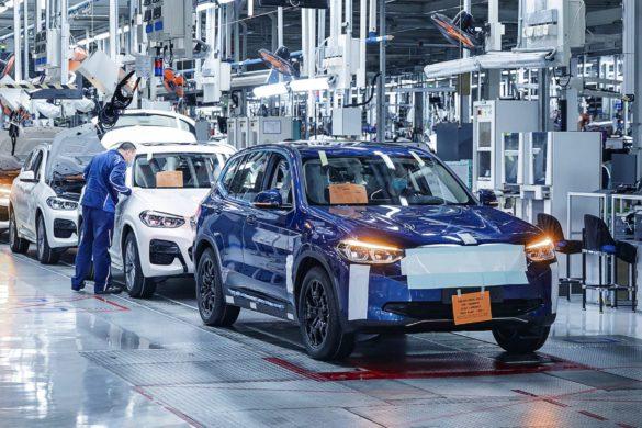 Megindult a BMW iX3 gyártásának előkészítése (hivatalos fotók)
