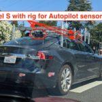 Új szenzorokkal láttak egy Tesla Model S-t (fotók)