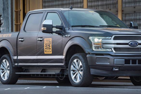 A Ford 2022-re halasztotta az elektromos F-150 pickup gyártását
