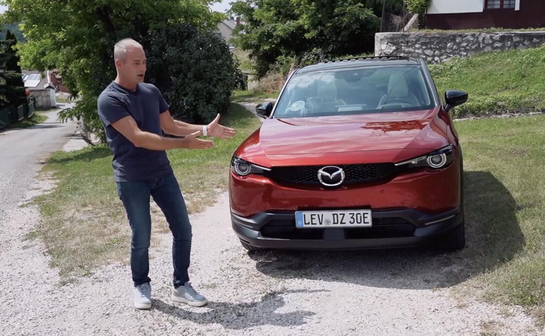 Mazda MX 30 menetpróba  [videó]