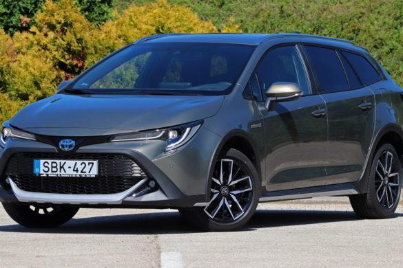 Toyota Corolla Trek teszt: fogyasztásbajnok hibrid terepkombi