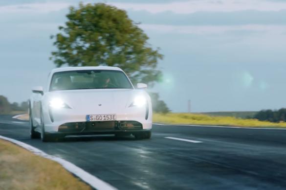 Elektromos szörnyeteg: Porsche Taycan Turbo S menetpróba - by Handrás [videó]