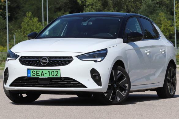 Villanyos villámos: Opel Corsa-e teszt