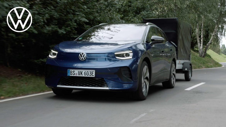 Volkswagen: Ennyit vontathat majd az ID.4 – Videó