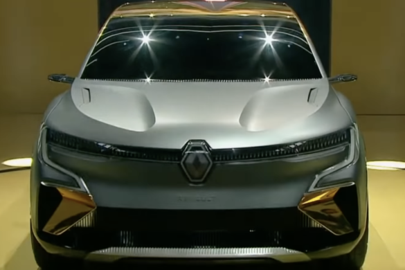 Renault Megane electric 2022 [videó]