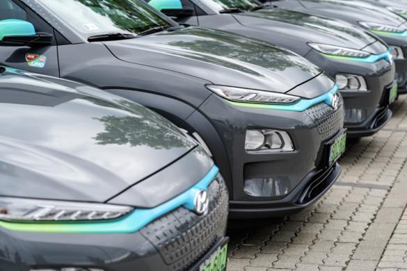 30 darab Hyundai Kona Electric modellel bővült a MOL Limo flottája
