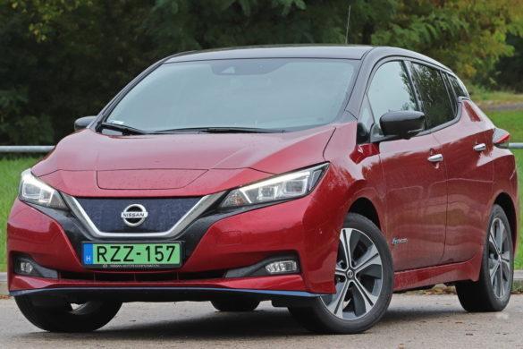 Japán villanyos: Nissan Leaf e+ teszt