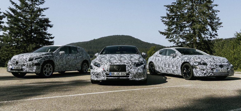 Új elektromos autókat harangozott be a Mercedes-Benz