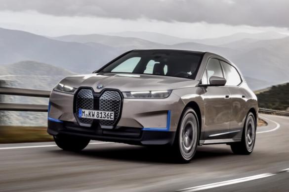 BMW iX - Bemutatkozott a bajor elektromos SUV