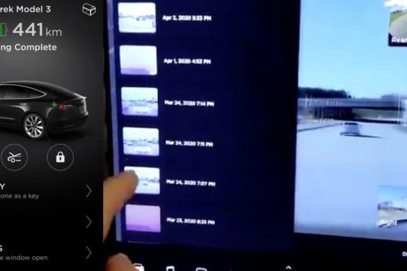 Távolról is megtekinthető lesz az önvezető Tesla autók kamerája