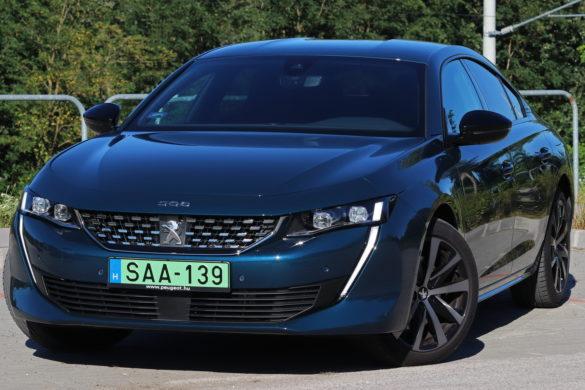 Peugeot 508 PHEV teszt: Mindenevő oroszlán