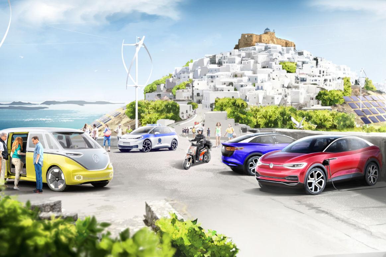 A Volkswagen-csoport és Görögország minta szigetet hoz létre a klíma-semleges mobilitás megteremtésére