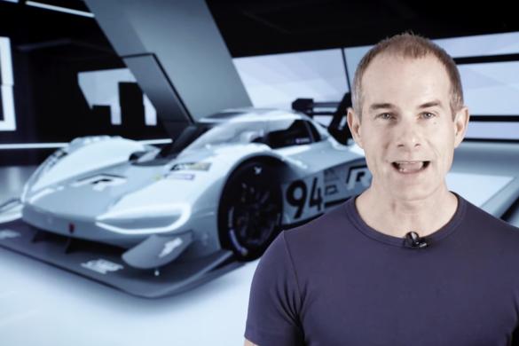 Volkswagen I.D. R virtuális menetpróba