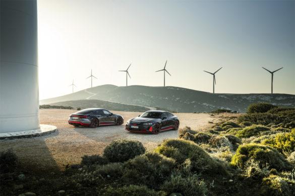 A tisztán elektromos Audi e-tron GT alkatrészeit is Győrben készítik