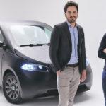 Napelemekkel teli új német villanyautó
