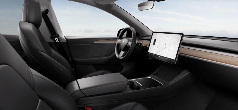 Új belső dizájnt kapott a Tesla Model Y